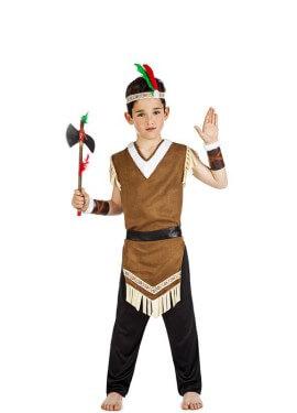 Costume indiano moicano per un ragazzo