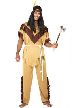 Disfraz de Indio Tótem para hombre