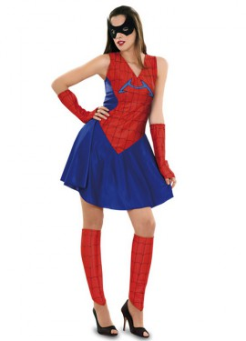 Disfraz de Insecto Araña para mujer talla M-L