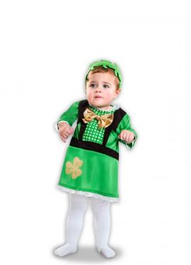 Disfraz de Irlandesa de San Patricio para bebé