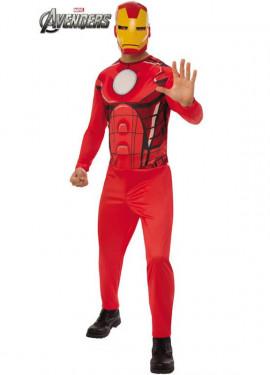 Disfraz de Iron Man de los Vengadores para hombre