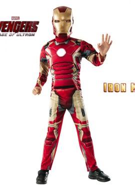 Déguisement Iron Man Deluxe The Avengers 2 pour enfants