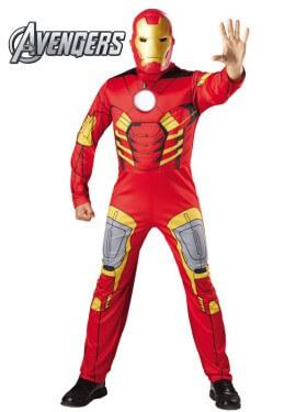 Disfraz de Iron Man Musculoso para adultos