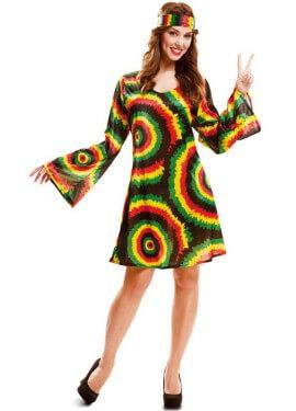 Déguisement Jamaïquainne ou Hippy pour femme