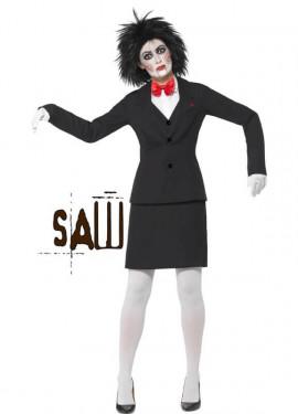 Disfraz De Jigsaw De Saw Para Mujer