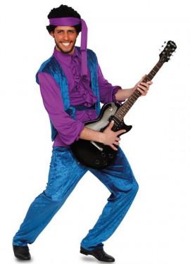 Jimi hendrix costume per un uomo