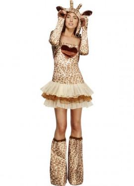 Disfraz de Jirafa tutú para mujer