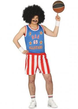 Disfraz de Jugador de Basket para Hombre