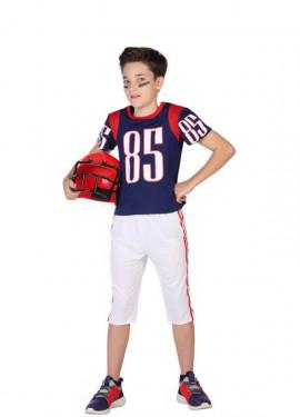 Disfraz de Jugador Rugby para niño