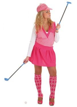 Disfraz de Jugadora de Golf para mujer