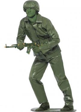 Disfraz de Juguete Soldadito de Plástico para Hombre