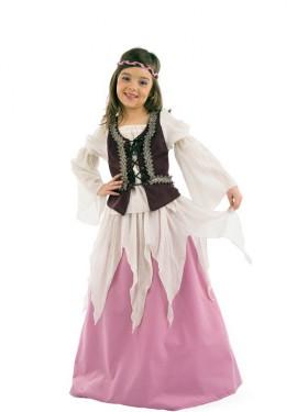 Déguisement de Juliette Médiévale enfants (plusieurs tailles)