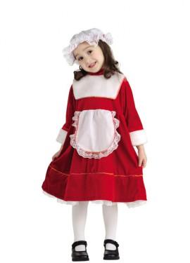 Disfraz de La hija de Santa Claus para bebé