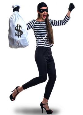 Disfraz de Ladrona para mujer