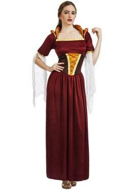 Disfraz de Lady Medieval para mujer