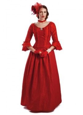 Disfraz de Lady Rot Divina de época para mujer