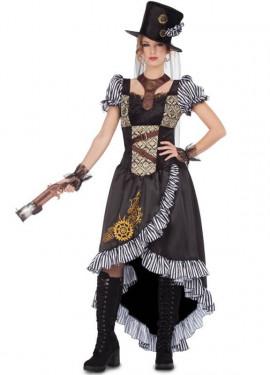 Costume da Lady Steampunk per donna