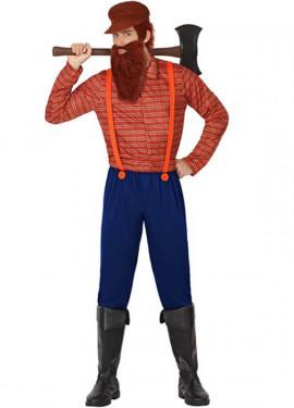 Disfraz de Leñador para hombres