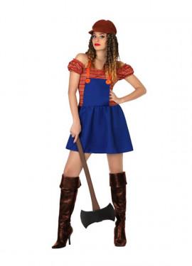 Disfraz de Leñadora para mujeres