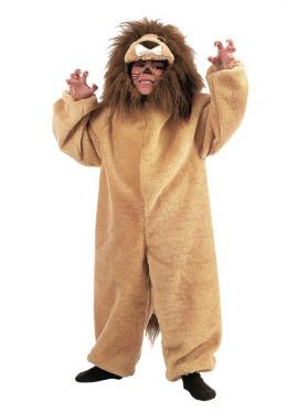 Déguisement Lion en Peluche pour enfants