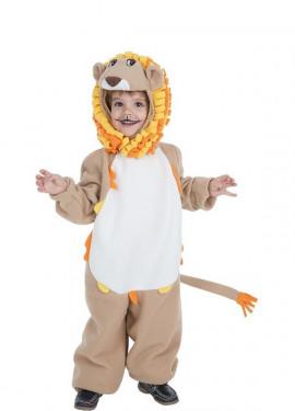 Disfraz de León divertido para niño