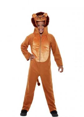 Disfraz de León Marrón para niños