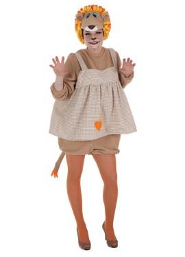 Disfraz de Leona divertida para mujer