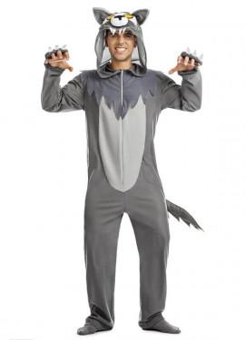 Disfraz de Lobo Gris para hombre