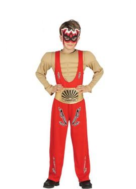 Disfraz de Luchador de Lucha Libre para niño