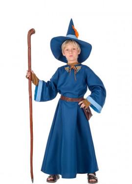 Déguisement de Magicien Bleu pour enfant