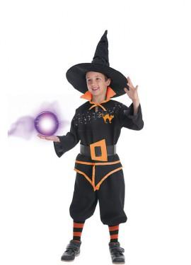 Déguisement Magicien Carolus pour garçon