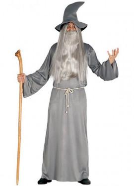 Disfraz de Mago Gandalf el gris para hombre