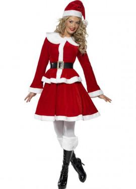 Disfraz de Mamá Noel para Mujer para Navidad
