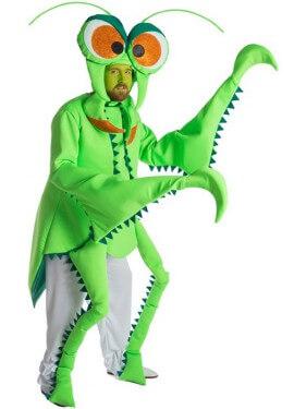 Disfraz de Mantis Religiosa para adultos
