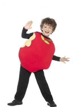 Disfraz de Manzana para niños