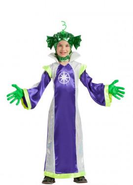 Disfraz de Marciana Morada para niña