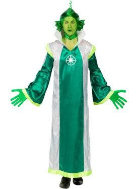 Costume verde marziano per un uomo