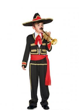 Disfraz de Mariachi Mexicana para niña c2adbfc8649