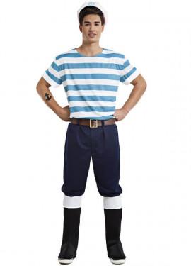 Disfraz de Marinero Lobo de Mar para hombre