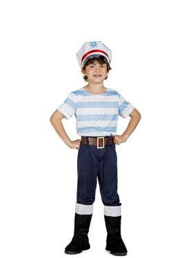Disfraz de Marinero Lobo de Mar para niño
