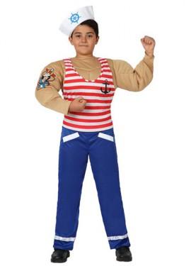 Disfraz de Marinero Musculoso para niños