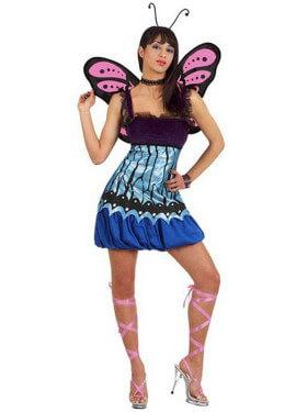 Disfraz de Mariposa Salvaje para mujer