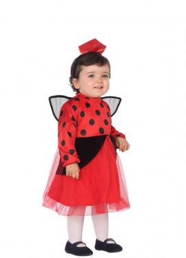 disfraz de mariquita para beb