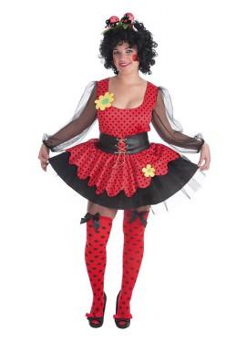 Disfraz de Mariquita para mujer