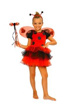 Disfraz de Mariquita para niñas
