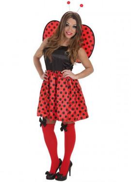 Disfraz de Mariquita Pop para mujer