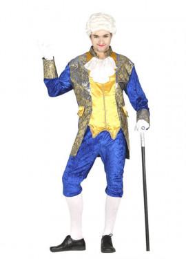 Disfraz de Marqués azul