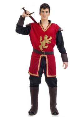 Déguisement Marquis Médiévale Rouge pour homme