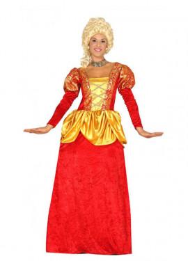 Déguisement de Marquise Rouge pour femme, plusieurs tailles
