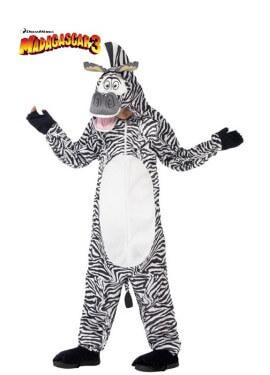 Disfraz de Marty la Cebra de Madagascar para niños